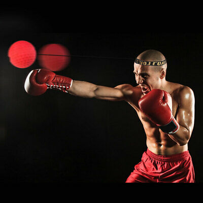 REACT Reflex Ball Kidte Boxing Trainning Head-Mounted Hand Eye Training