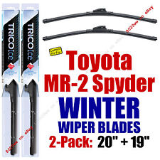 WINTER Wipers 2-Pack Premium Grade - fit 2000-2005 Toyota MR2 Spyder - 35200/190