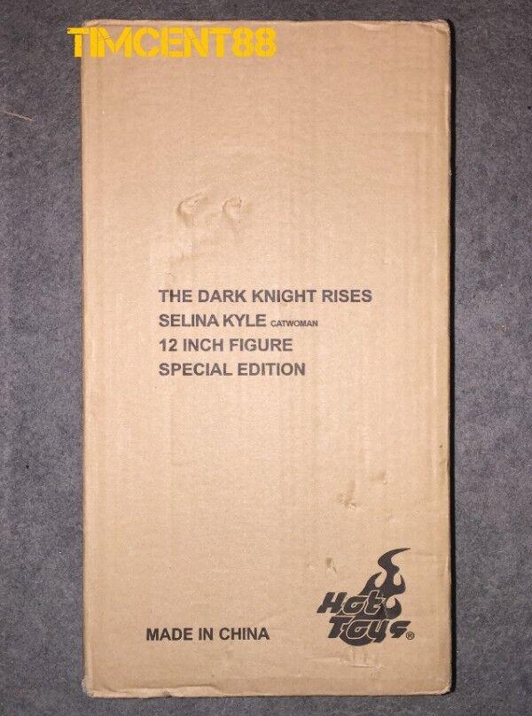 Hot Toys Batman Caballero Oscuro Asciende 16 Selina Kyle Catwoman Anne Especial Sellado