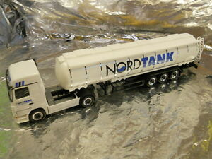 Herpa-149143-MB-Actros-LH-Jumbo-Tanque-ovejas-nordtank-1-87-HO-Scale