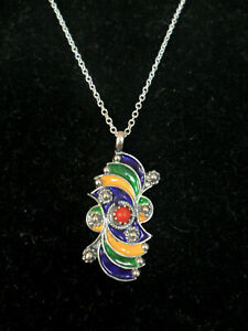 COLLIER PENDENTIF KABYLE BERBERE ARGENT MASSIF AFRIC ETHNIC SILVER JEWEL PENDENT