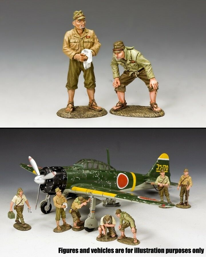 KING & COUNTRY WW2 JAPANESE NAVY JN020 IMPERIAL ARMY GROUND CREW SET MIB