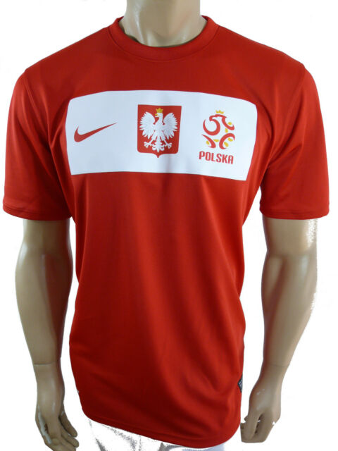 Nike Pologne tricot jersey rouge gr.xl