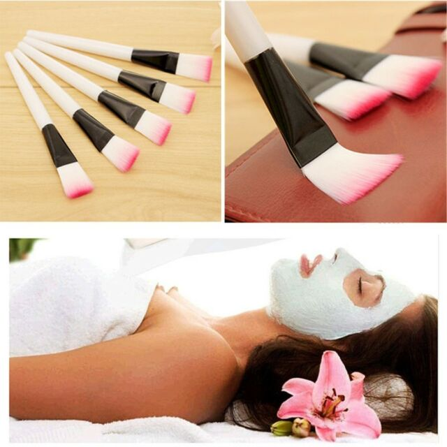 2PCS Skin Care Facial Mask Brush Makeup Brush Skin Treatment Brushes Eyes Tool