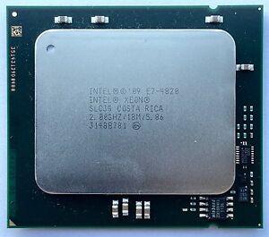 Agressif Intel E7-4820 2.ghz 5,86tps/s 8 Cœurs 18mb Slc3g Processeur Cpu Avec Les éQuipements Et Les Techniques Les Plus Modernes
