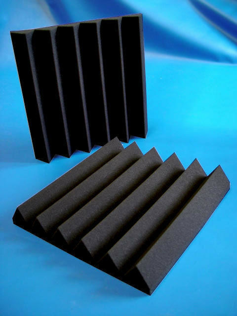 "Soundproofing 2"" Acoustic Studio Wedge Foam (REMNANT) C  (10PK) 24x48"