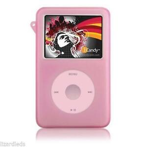Pink-Silicone-Skin-Case-for-Apple-iPod-Classic-80gb-120gb-160gb-Cover-Holder