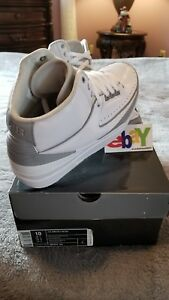 47cab2e4d0a2b6 AIR JORDAN 2 RETRO PURE MONEY WHT METLLIC SLVR-NTRL GRY 08 26 09 ...