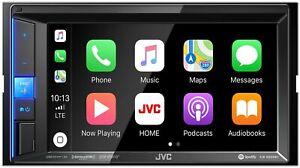 "JVC KW-M650BT Digital Media Receiver BT 6.2"" Touch Screen Apple CarPlay"