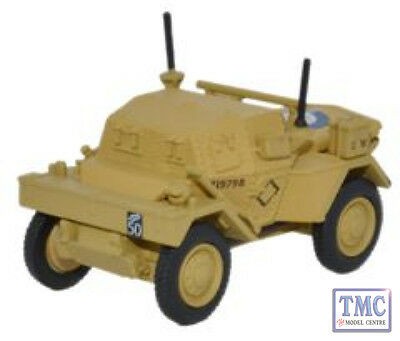 76dsc003 Oxford Diecast Dingo Scout Car Hq 2nd Div El Alamein 1942 1/76 Scale Oo