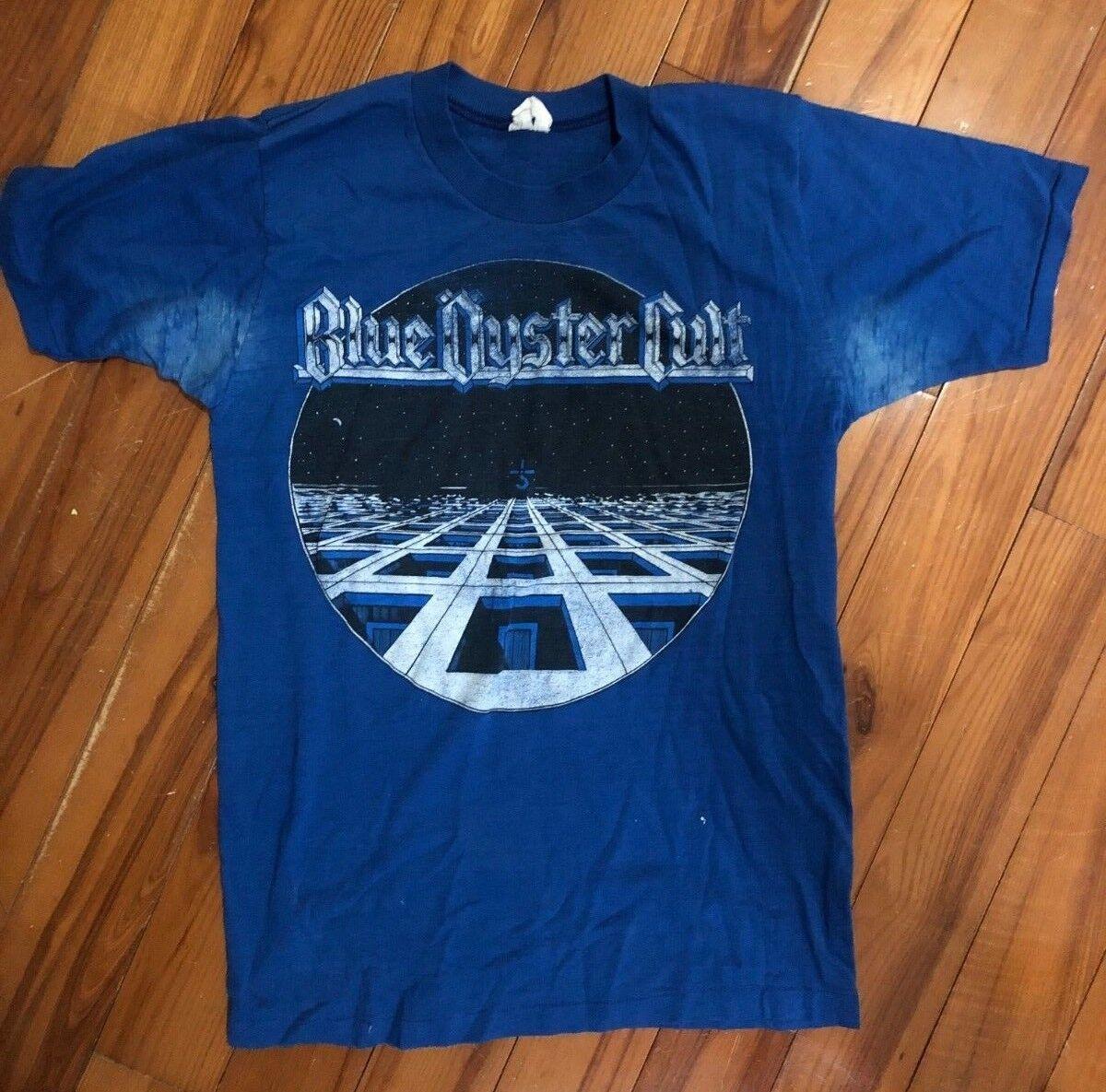 Blau Oyster Cult Super Soft Vintage hemd   SZ SM