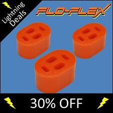 Ford Exhaust Hangers ( Pigs Nose ) in Poly Pack of 3 Polyurethane Poly Bushes