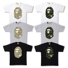 6b390c5b a Bathing Ape Men's 1st Camo Big Ape Head Tee 6colors From Japan XXL ...