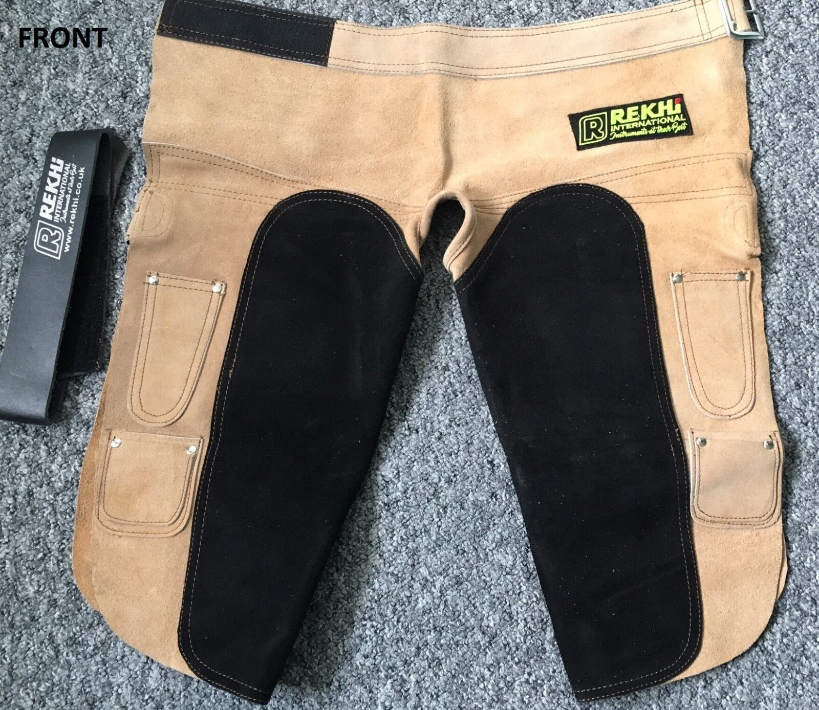 Annual Clearance Farrier APRON Chap Full SUEDE Leather Chaps