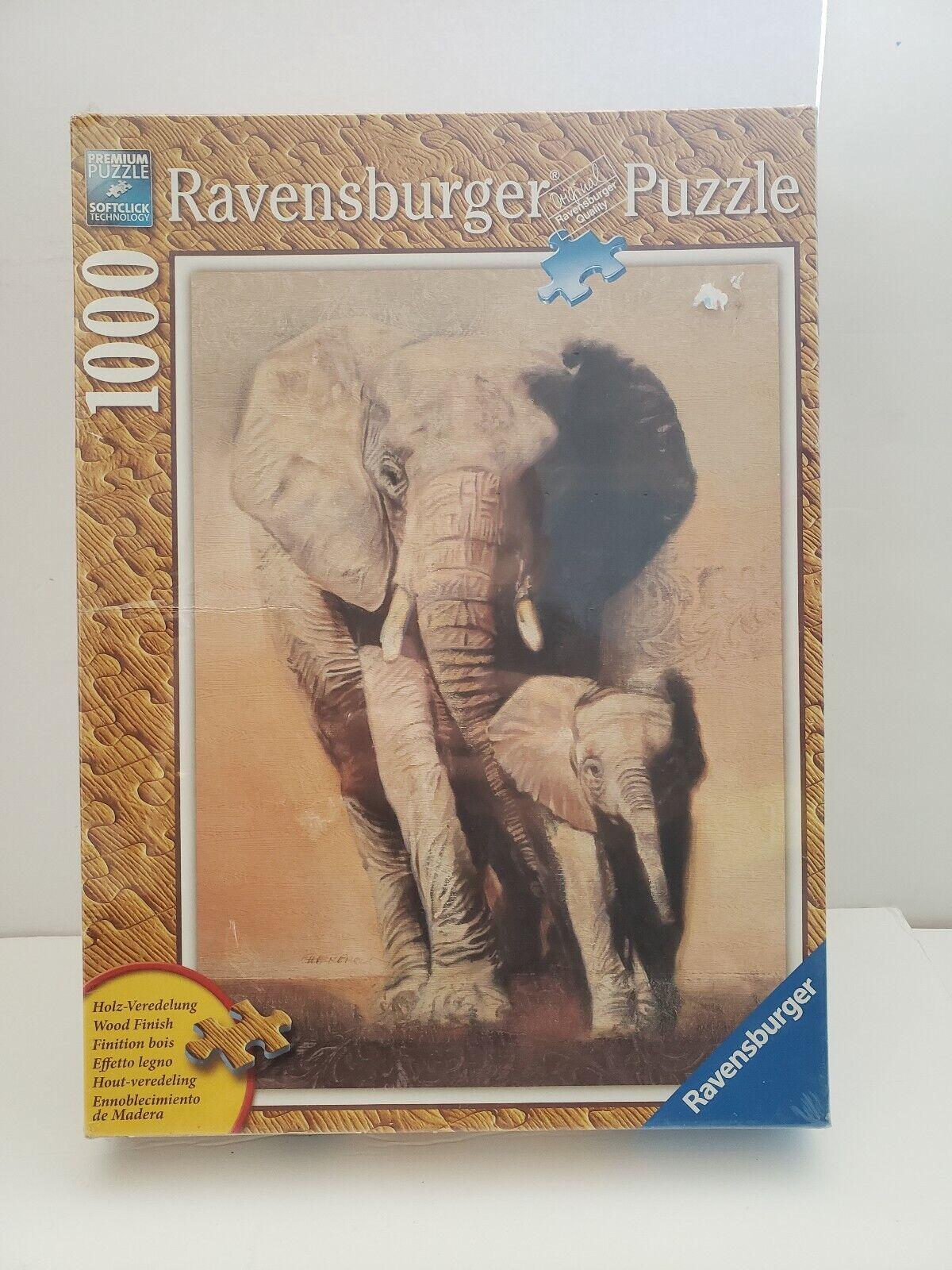 HTF Elephant Family  Ravensburger Puzzle  prezzi più bassi
