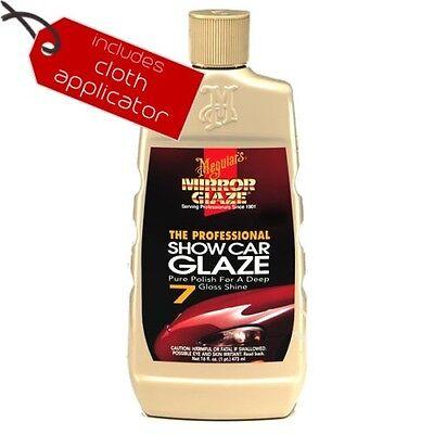 Meguiars Show Car Glaze #7 - 473ml + Microfibre