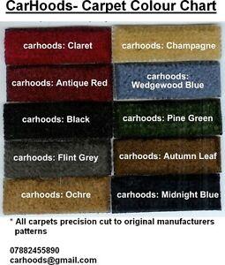 Vauxhall-Cresta-Velox-PA-PB-PC-Viscount-Carpet-Set-choice-of-colours-NEW