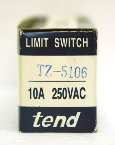 1pc Limit Switch TZ-5106 TZ5106 1A1B 5A 250VAC IP65 UL TEND Taiwan *
