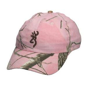 Browning Rimfire Cap, Realtree Ap Rose Baseball Hat-afficher Le Titre D'origine