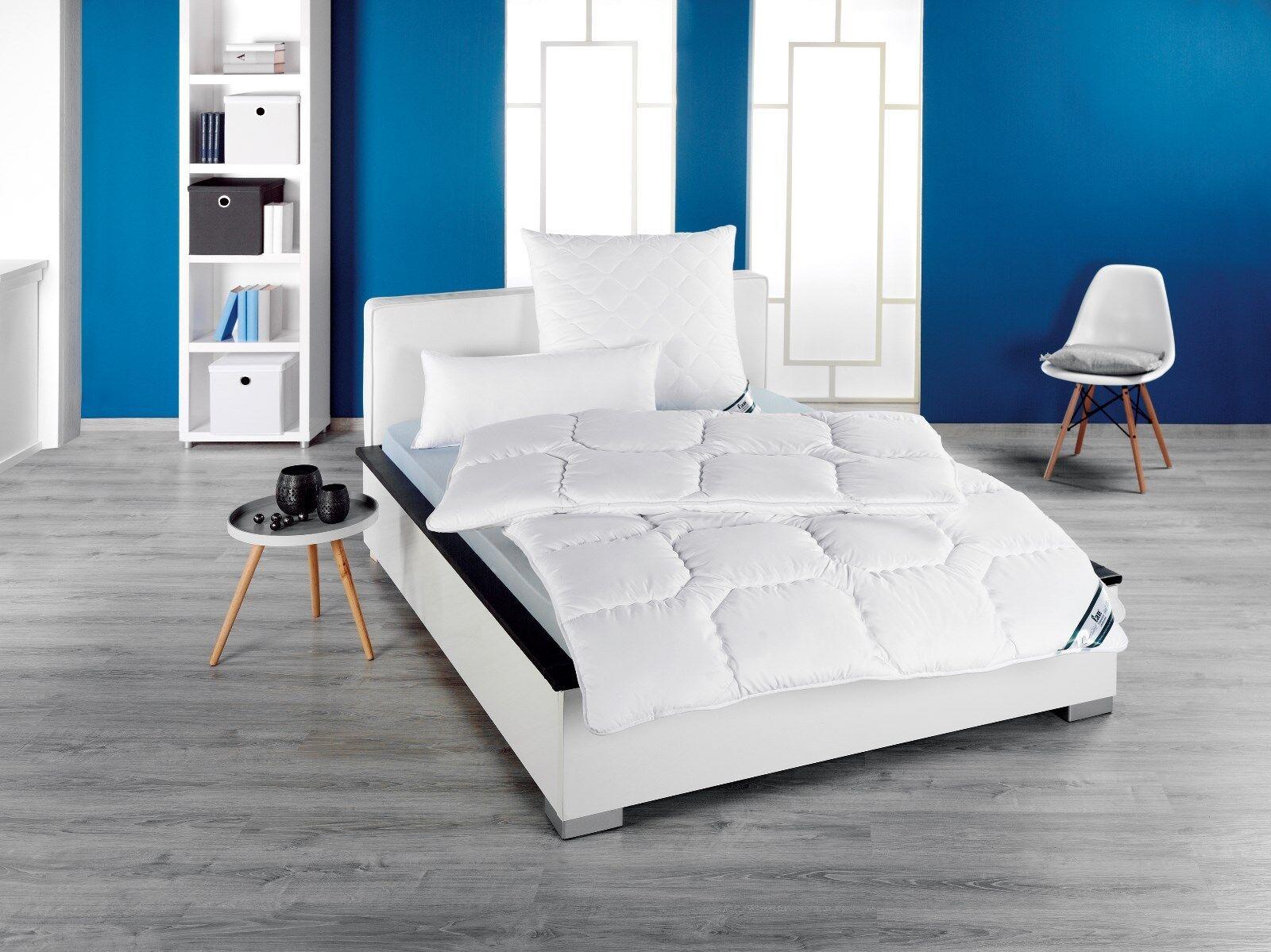 Betten  Kansas  Kissen Vierjahreszeitenbett 80x80 135x200 155x220 kochfest wählb