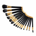 15pcs Cosmetic Eyeshadow Powder Fashion Lip Brushes Beauty Makeup Brush Set