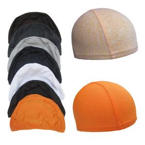 Men Woman  Under Helmet Cap Running Cycling Helmet Liner Skull Caps Beanie Hat