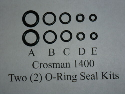 Exploded View /& E-Z Seal Guide O-Ring Seal Kit 2 Crosman 1400 Two