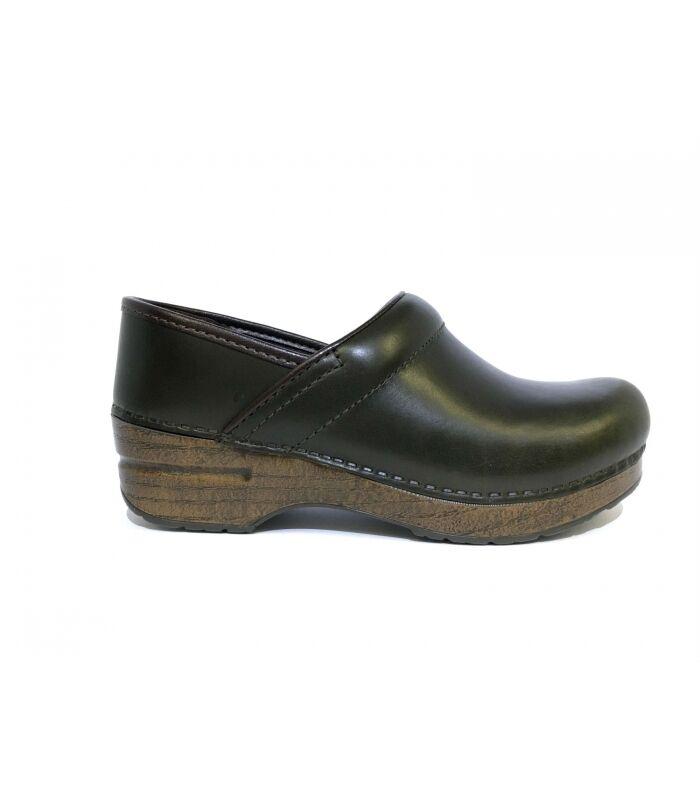 scarpa green dansko professional full grain green scarpa sabot 482169