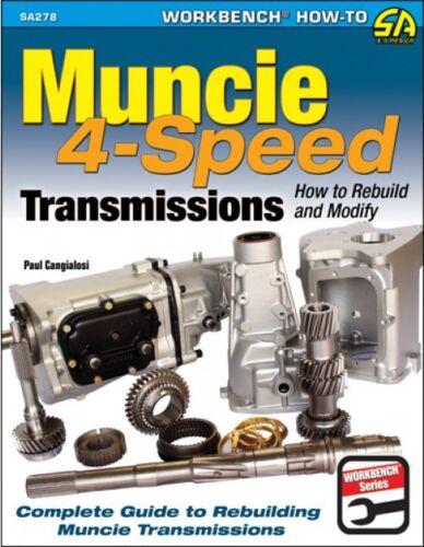 SA Designs SA278 Book Muncie 4-Speed Transmissions How to Build//Modify 144pgs