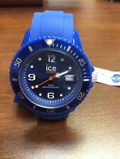 Ice Watch SI.BE.US.09 Unisex Blue Silicone watch NEW