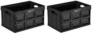 2X Greenmade InstaCrate Collapsible Storage Container 12 gallon Made in USA
