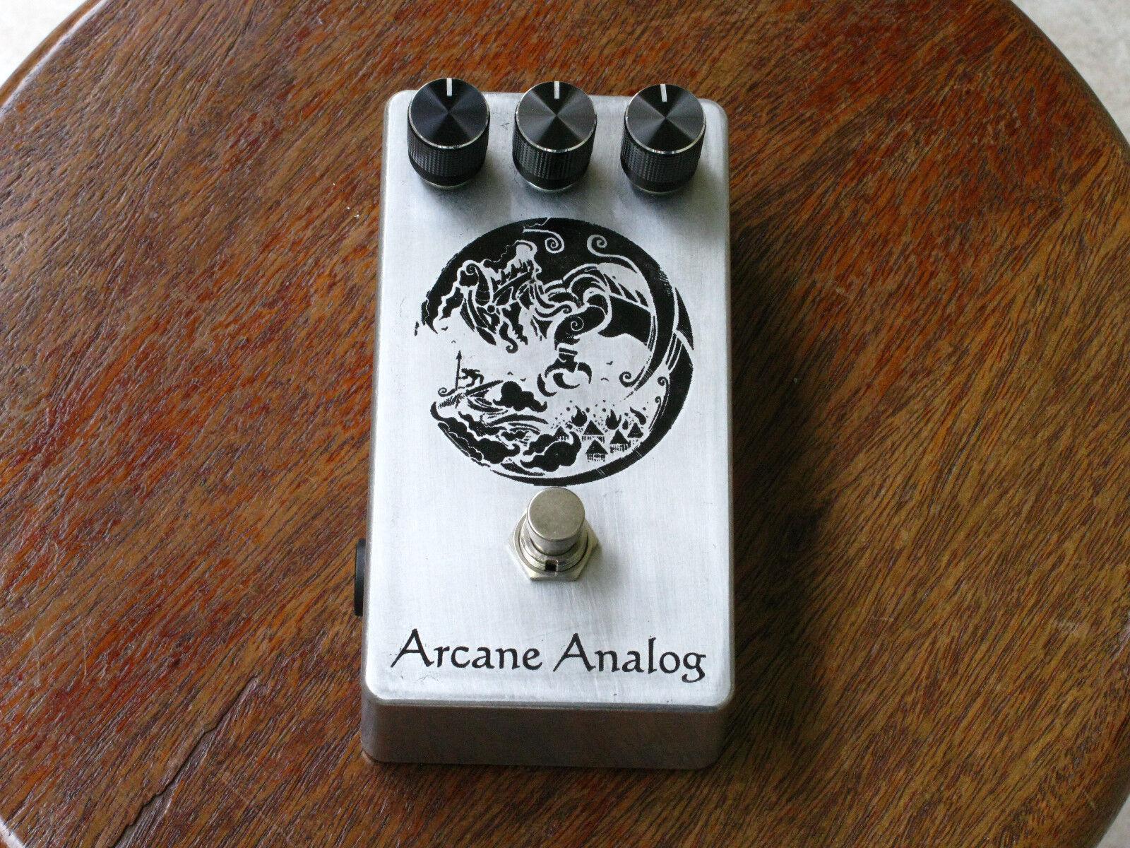 Arcane Analog  One Knob  Fuzz (Farbesound Fuzz Box Clone)