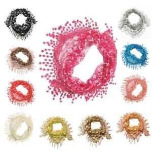 Hollow-Out-Tassel-Sheer-Burntout-Floral-Print-Mantilla-Scarf-Shawl-Silk-Scarf-X1