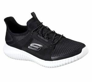 Skechers-Elite-Flex-Trainers-Mens-Knit-Mesh-Memory-Foam-Sports-Lace-Shoes-52640