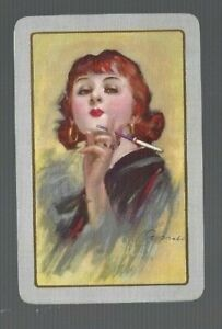 Playing cards swap cards Barribal lady  Wide