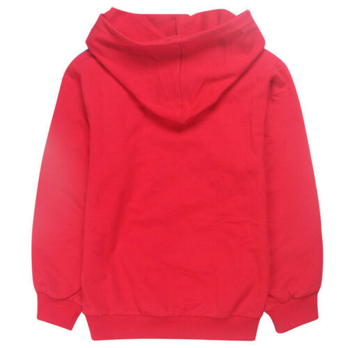 New Boys Girls Roblox Hooded Tops Kids Casual Hoodie Sweatshirt Gift UK