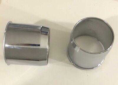 4 Black Steel Push Thru Center Cap Fits 8 Lug Wheels w// 5.12/'/' Bore 8x6.5 8x1