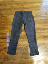 *BRAND NEW* 90 Degree by Reflex Leggings Black Denim Print Sz-XS *NWT*