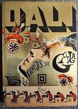 Les Dainers de Gala by Salvador Dali (1973, Hardcover)W/ Infamous FAKE Autograph