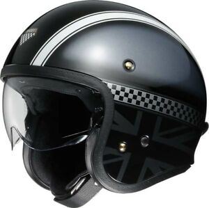 Shoei-J-O-Hawker-Jethelm-Motorradhelm-Roller-Sturzhelm-mit-Innenvisier