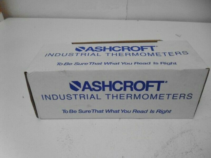 ASHCROFT 50EI60E060-10 150C BIMETAL THERMOMETER 6  STEM  NEW IN BOX