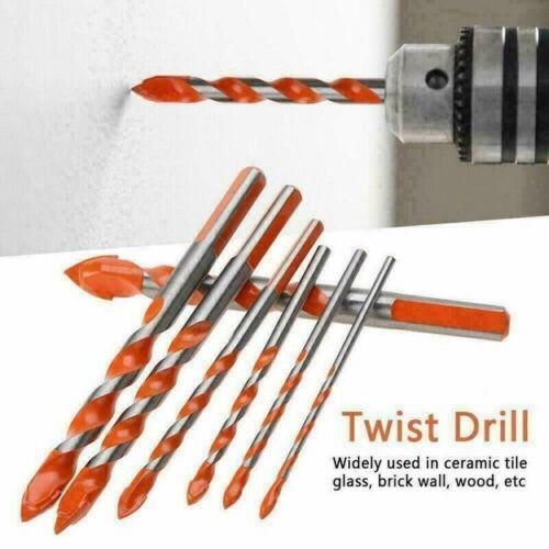 Multifonction Orange Fournitures Drill Bits Set Pour Porcelaine Granite Marbre