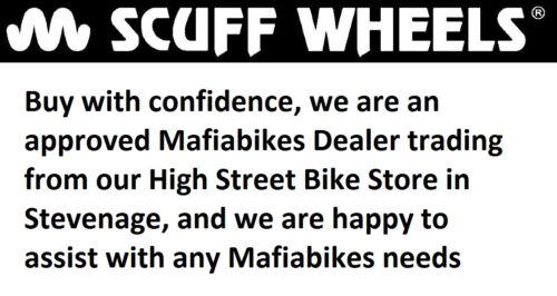 Mafiabikes peau de serpent 29 x 2.5 Pneu Set Vert MTB Wheelie Bike-Lot de 2 pneus