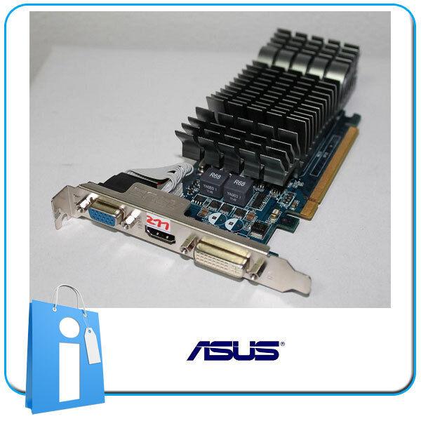 Tarjeta Grafica nVidia ASUS GT210 1GB PASIVA Low Profile