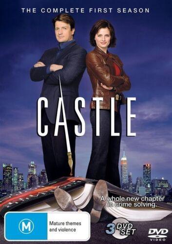 1 of 1 - Castle : Season 1 (DVD, 2010) Region 4