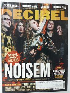 DECIBEL Heavy Metal Magazine Issue 128 June 2015 Noisem Death Angel Shining