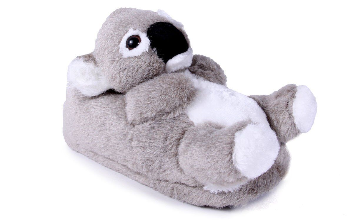 50+ STYLES - PREMIUM FULL FOOT Happy Feet Mens and Womens ANIMAL SLIPPERS