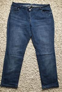 Damen Jeanshose Gr. 50 mittel Blau , große Mode, Benotti ...