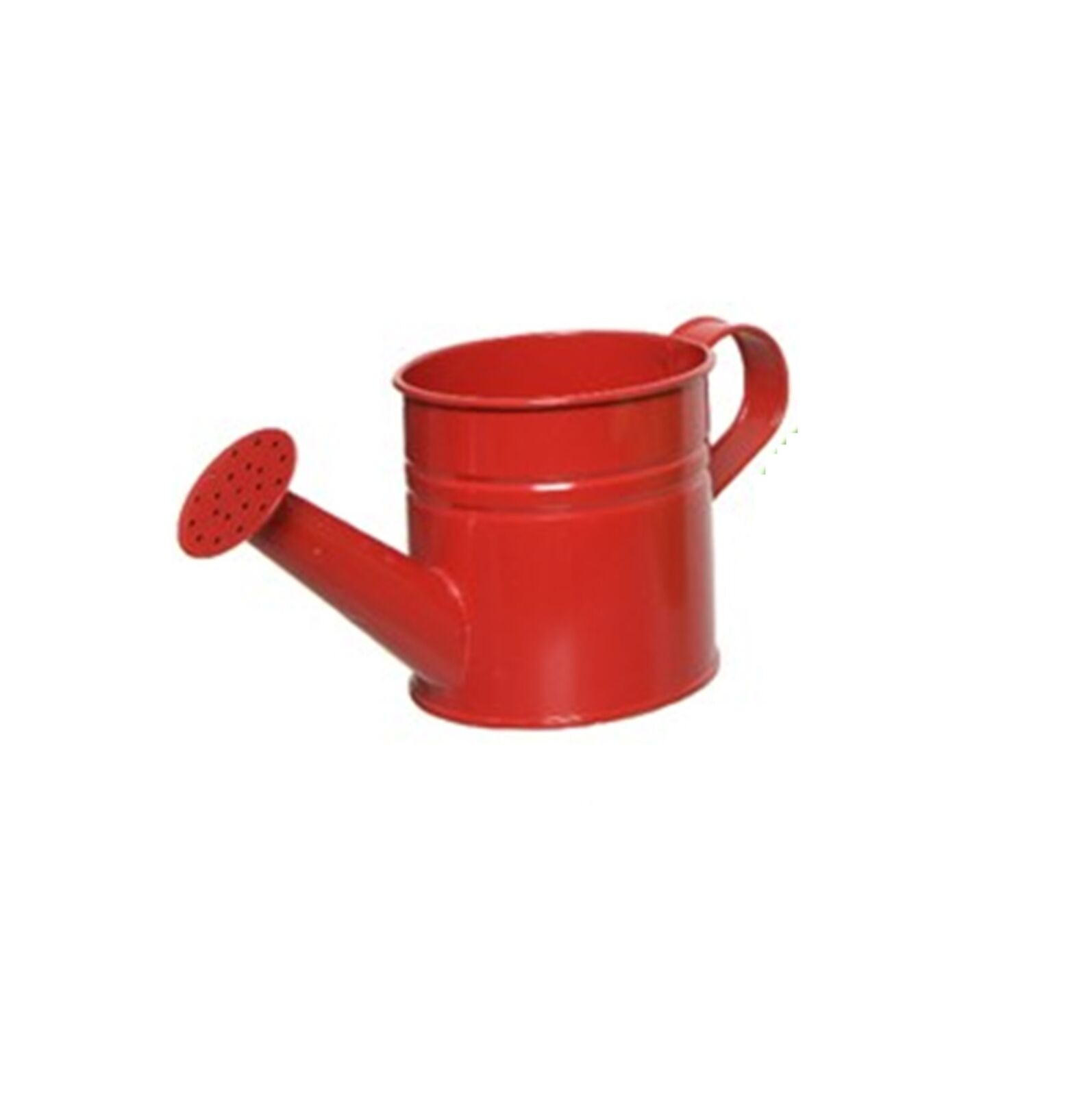 Small Zinc Watering Can Kids Flower Plant Pot Garden Watering Can Bright Red