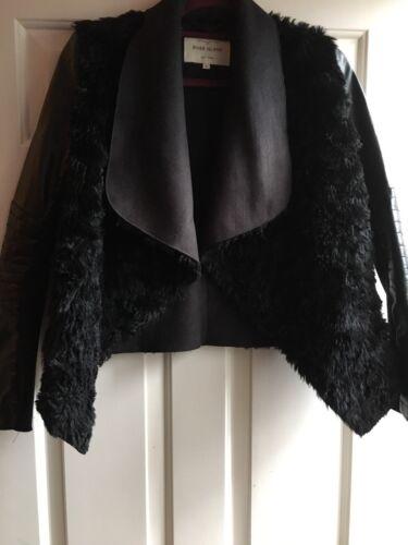 And coat Uk Fur Island River Leather Faux Size 6 Jacket xOqpZtUw